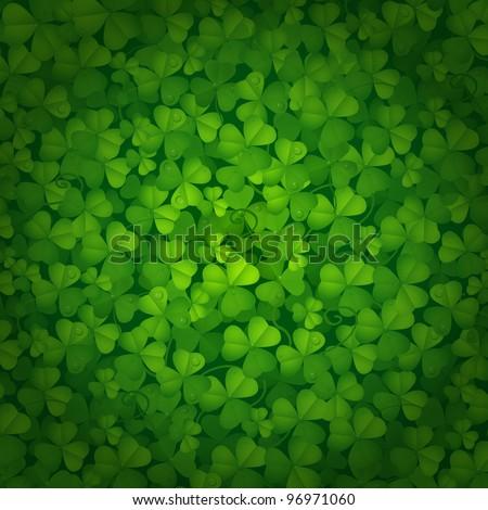 St. Patrick`s day background - stock photo