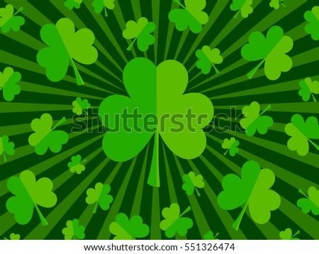 St. Patrick's Day - shamrocks