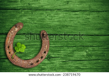 St. Patricks day, lucky charms - stock photo