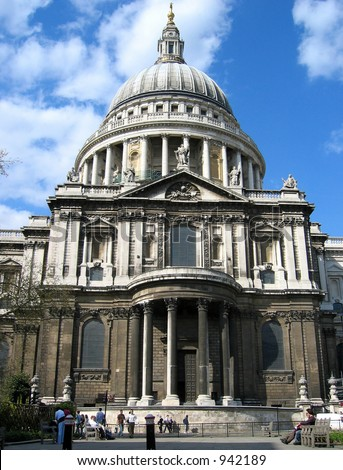 St. Paul Cathedral at London UK