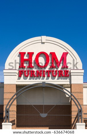 PAUL  MN USA   MAY 7  2017  Hom Furniture exterior. Hom Stock Images  Royalty Free Images   Vectors   Shutterstock