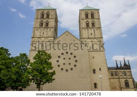 St.-Paulus-Dom Muenster Germany - stock photo