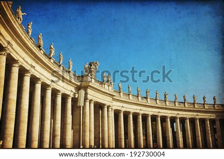 St. Peter's Basilica, St. Peter's Square, Vatican City. Rome