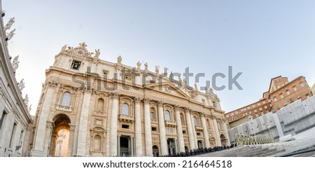St Peter Square, Vatican City.