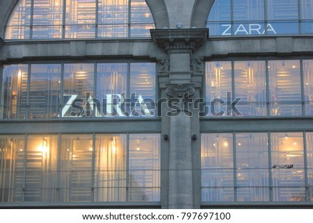 """zara the technology giant of the fashion world Up and coming clothing giant, zara revenues to skyrocket and made the company the world's largest fashion to """"the zara method"""" michael."""