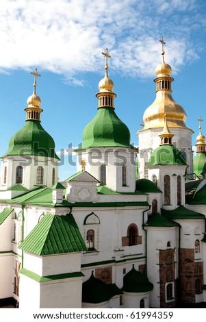 St. Sophia Cathedral.Kiev Ukraine - stock photo