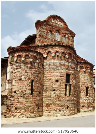St. Stefan Church (the New Metropolia), Nesebar, Bulgaria