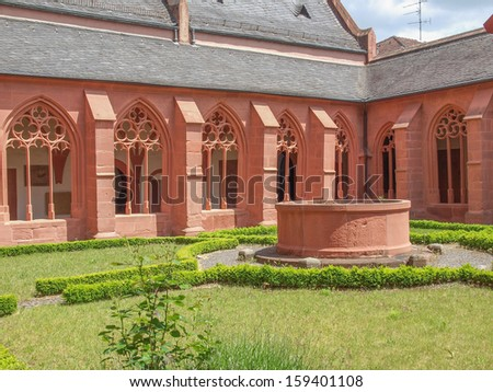 St Stephan church in Mainz in Germany
