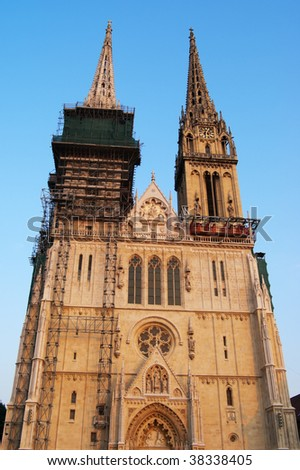 St Stephen cathedral Zagreb Croatia