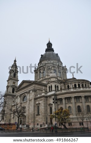 St. Stephen's Basilica.Budapest, Hungary.Architectural masterpiece