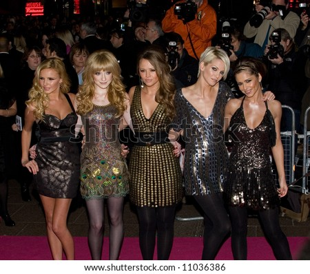 St Trinians World Premiere at the Empire Leicester Square on December 10, 2007 in London, England. Nadine Coyle, Nicola Roberts, Kimberley Walsh, Sarah Harding, Cheryl Cole, Girls Aloud