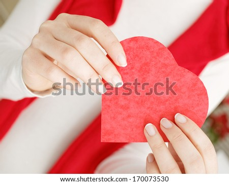 St Valentines Day Theme - stock photo