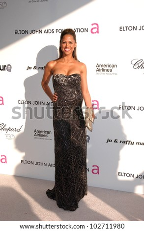 Stacey Dash  at the 18th Annual Elton John AIDS Foundation Oscar Viewing Party, Pacific Design Center, West Hollywood, CA. 03-07-10 - stock photo