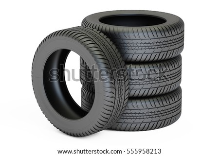 Tires Stacked Stock Photos, Royalty-Free Images & Vectors ... Race Tire Stack