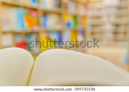 Stack of books on table close up  select focus - stock photo