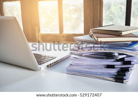 Desk Office File Document Paper For Desk Office File Document Paper Stack Of Business Report Paper On Modern White Desk Office File Document Paper Image Is Loading 6packstackable