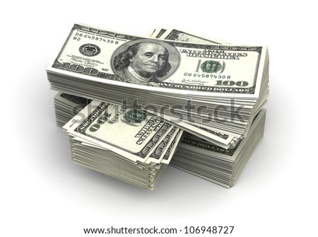 Stack of Dollar