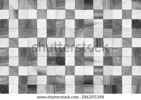 Stack of lumber, abstract wood texture background. - stock photo