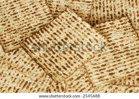 Stack of matzot - stock photo