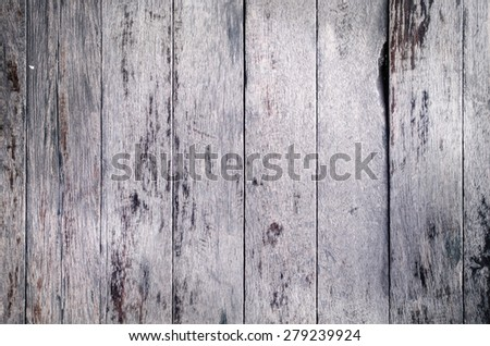 Stack of Old Brown wood wall texture background .  - stock photo