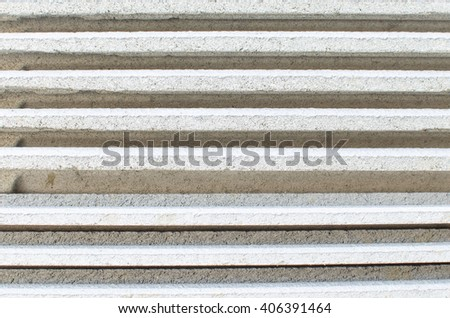stack of  roof tiles, waving tiles,background and texture - stock photo