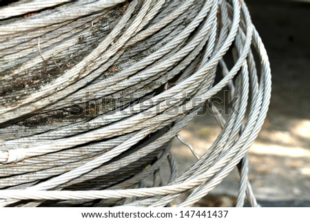 Stack of steel wire