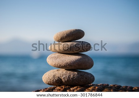 stack of stones balance