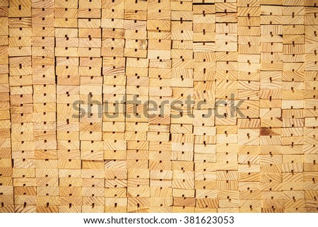 stack wooden planks industry nature
