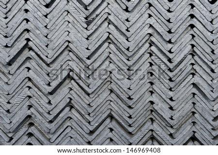 Stacked neatly Angle   - stock photo