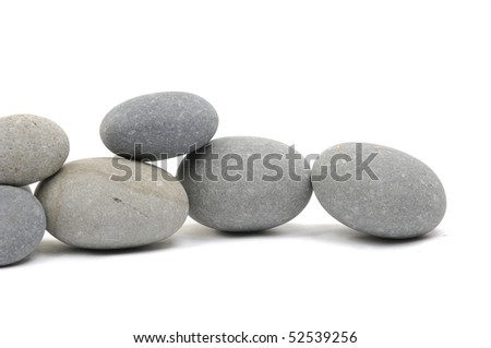 Stacked of natural stones