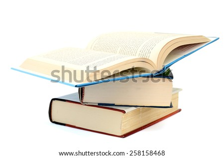 stack of books isolated stock images, royalty-free images