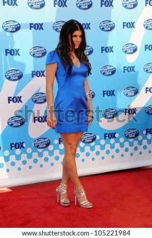 Stacy Ferguson at the 'American Idol' Grand Finale 2009. Nokia Theatre, Los Angeles, CA. 05-20-09