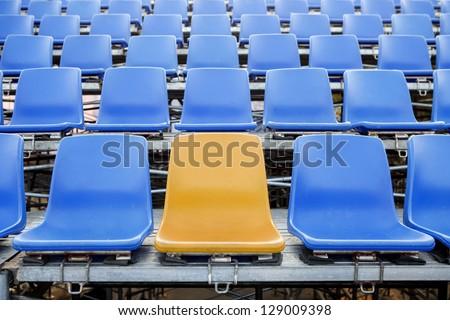 Stadium Chair - stock photo