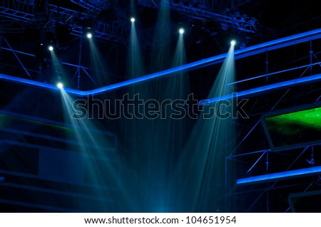 Stage Light - stock photo