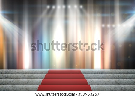 Stage Lighting Background