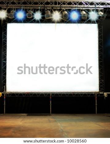 Stage performance - stock photo