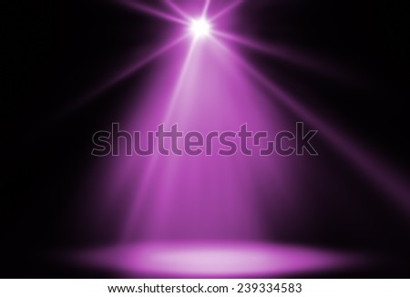 stage spot lighting background pink