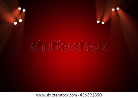 Stage theater background