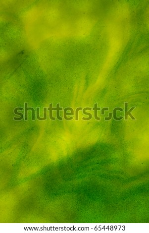 stained glass green streaky texture background - stock photo
