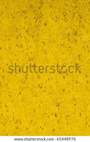 stained glass yellow full antique texture background - stock photo