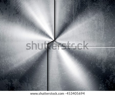 stained metal pattern background - stock photo