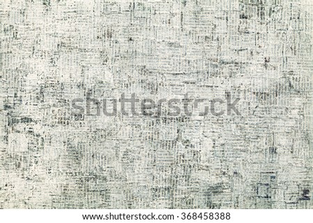 Stained Newspaper Grungy Background - stock photo