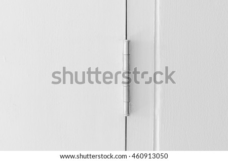 stainless hinges modern homestainless door hinges stock photo