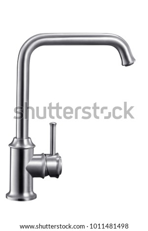 Stainless steel lead-free tap white map