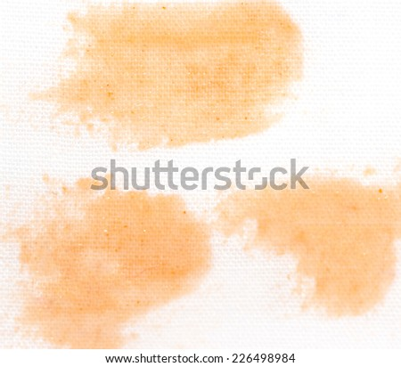 stains from ketchup - stock photo