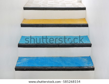 Stair Treads And Rubber Landing Tiles Provide Slip Resistant Stair  Protection And Safe Footing To