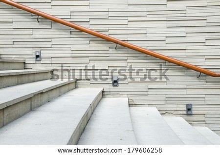 Stair way - stock photo