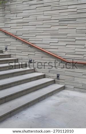 Stair way - stock photo