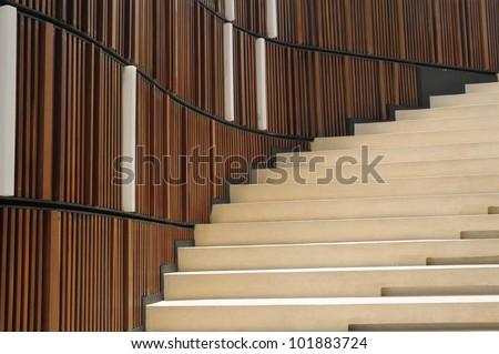 Staircase - stock photo