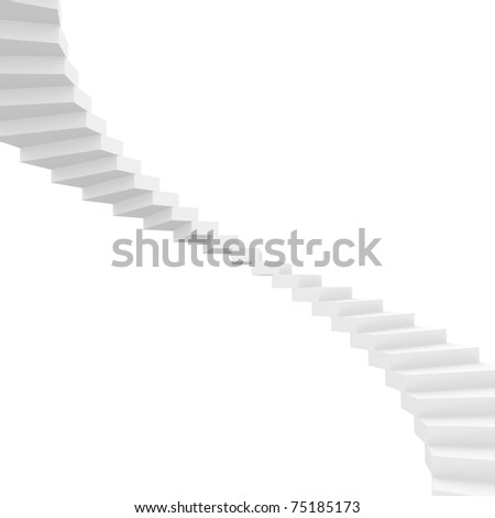 Staircase Background - stock photo